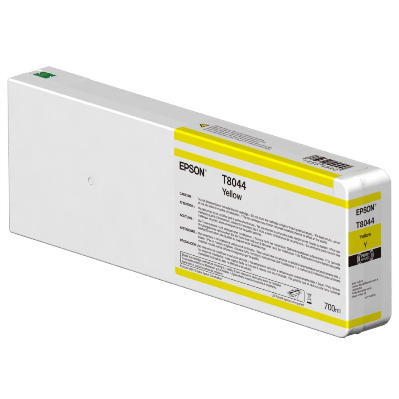 EPSON Cartouche d'encre traceur EPSON T8044 Pour imprimante SC-P6000/7000/7000V/8000/9000/9000V Jaune - 700ml