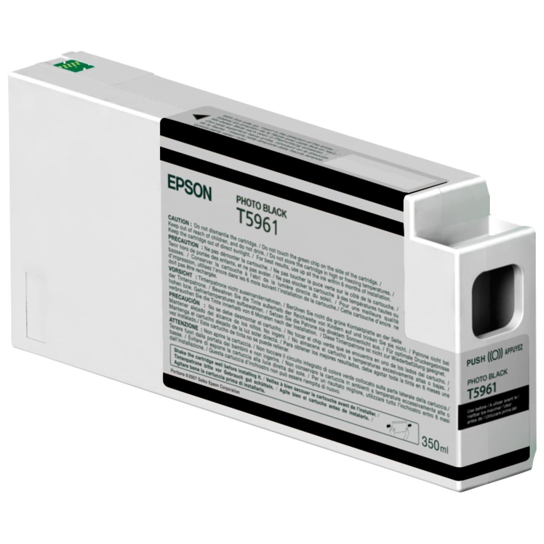 EPSON Cartouche d'encre traceur EPSON T5961 Pour imprimante 7700/9700/7890/9890/7900/9900 Noir Photo - 350ml