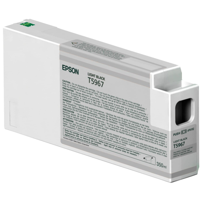 EPSON Cartouche d'encre traceur EPSON T5967 Pour imprimante 7890/9890/7900/9900 Gris - 350ml