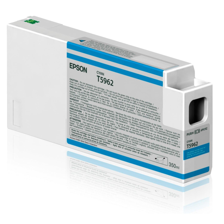 EPSON Cartouche d'encre traceur EPSON T5962 Pour imprimante 7700/9700/7890/9890/7900/9900 Cyan - 350ml