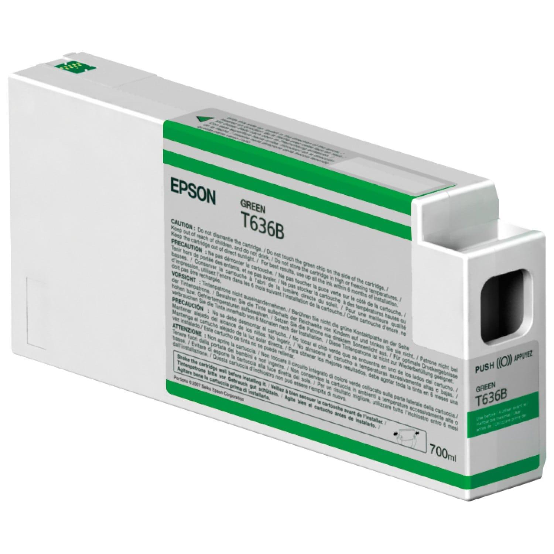 EPSON Cartouche d'encre traceur EPSON T636B Pour imprimante 7900/9900 Vert - 700ml