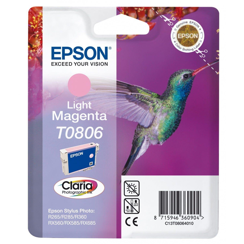 EPSON Cartouche d'encre EPSON T0806 Colibri - Magenta clair