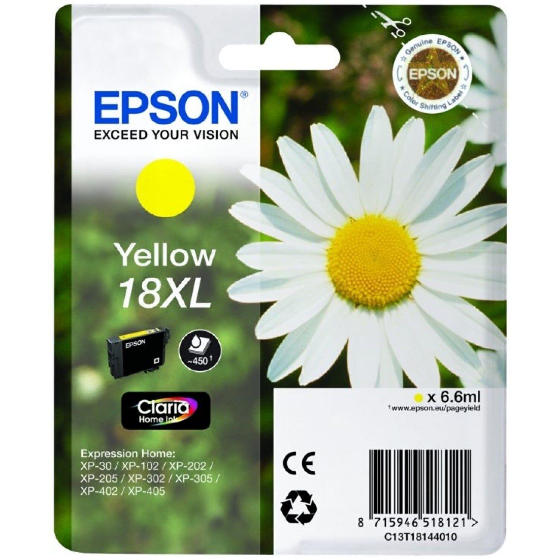 EPSON Cartouche d'encre EPSON T181440 Pâquerette - Jaune XL