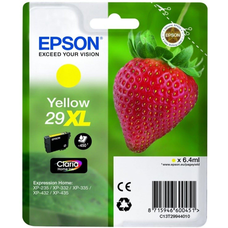 EPSON Cartouche d'encre EPSON T299440 Fraise n°29 - Jaune XL