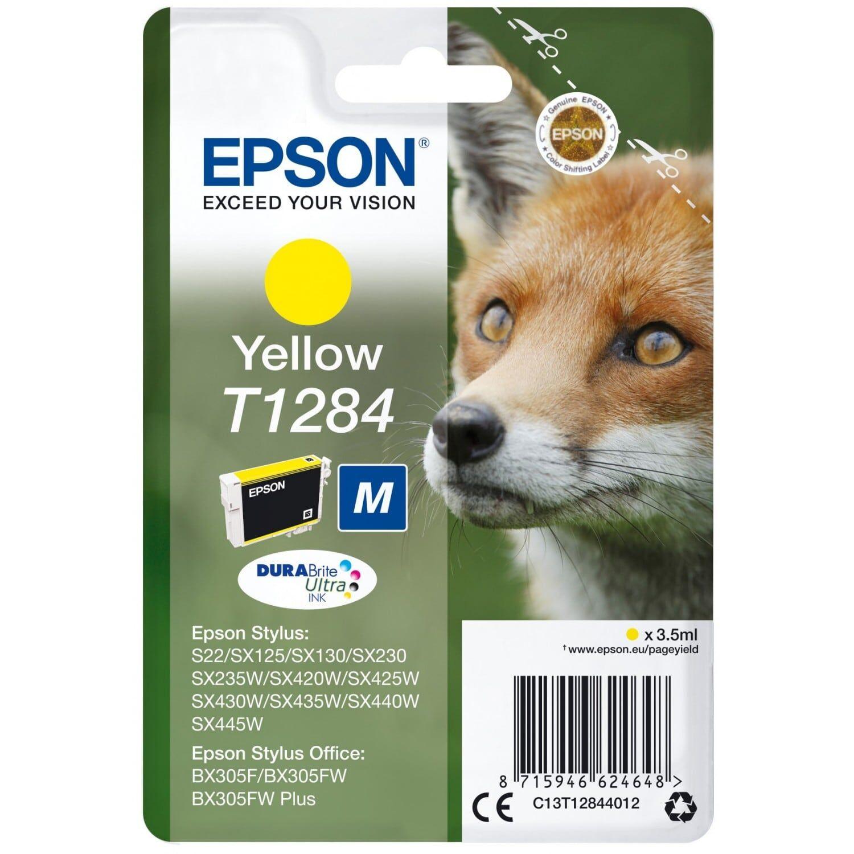 EPSON Cartouche d'encre EPSON T128440 Renard - Jaune