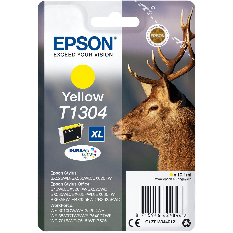 EPSON Cartouche d'encre EPSON T130440 Cerf - Jaune XL