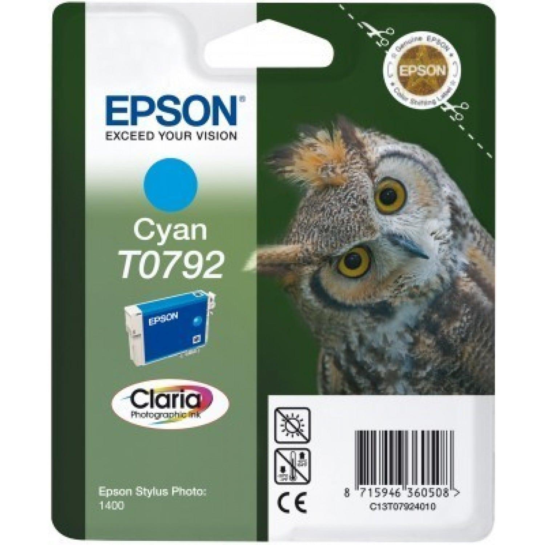 EPSON Cartouche d'encre EPSON T0792 Chouette - Cyan