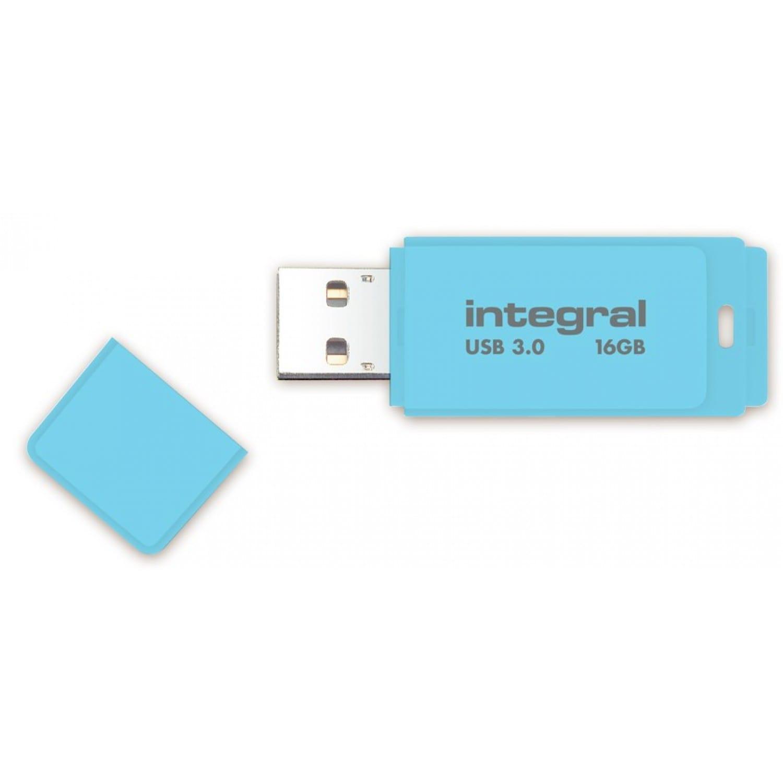 INTEGRAL Clé USB 3.0 INTEGRAL Flash Drive Pastel 16 GB (Bleu)