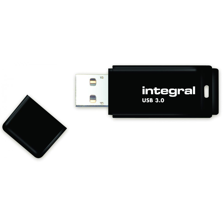 INTEGRAL Clé USB 3.0 INTEGRAL Drive Noire 64 GB