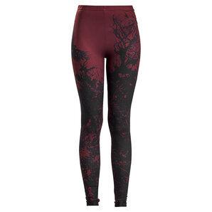 Black Premium Built for Comfort Leggings femmes Noir Rouge - XS