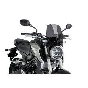 Puig bulle roadster pour avec kit de fixation, ABE Moto