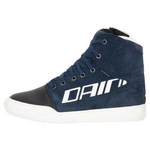 Dainese York D-WP bottes Bleu Blanc - 39