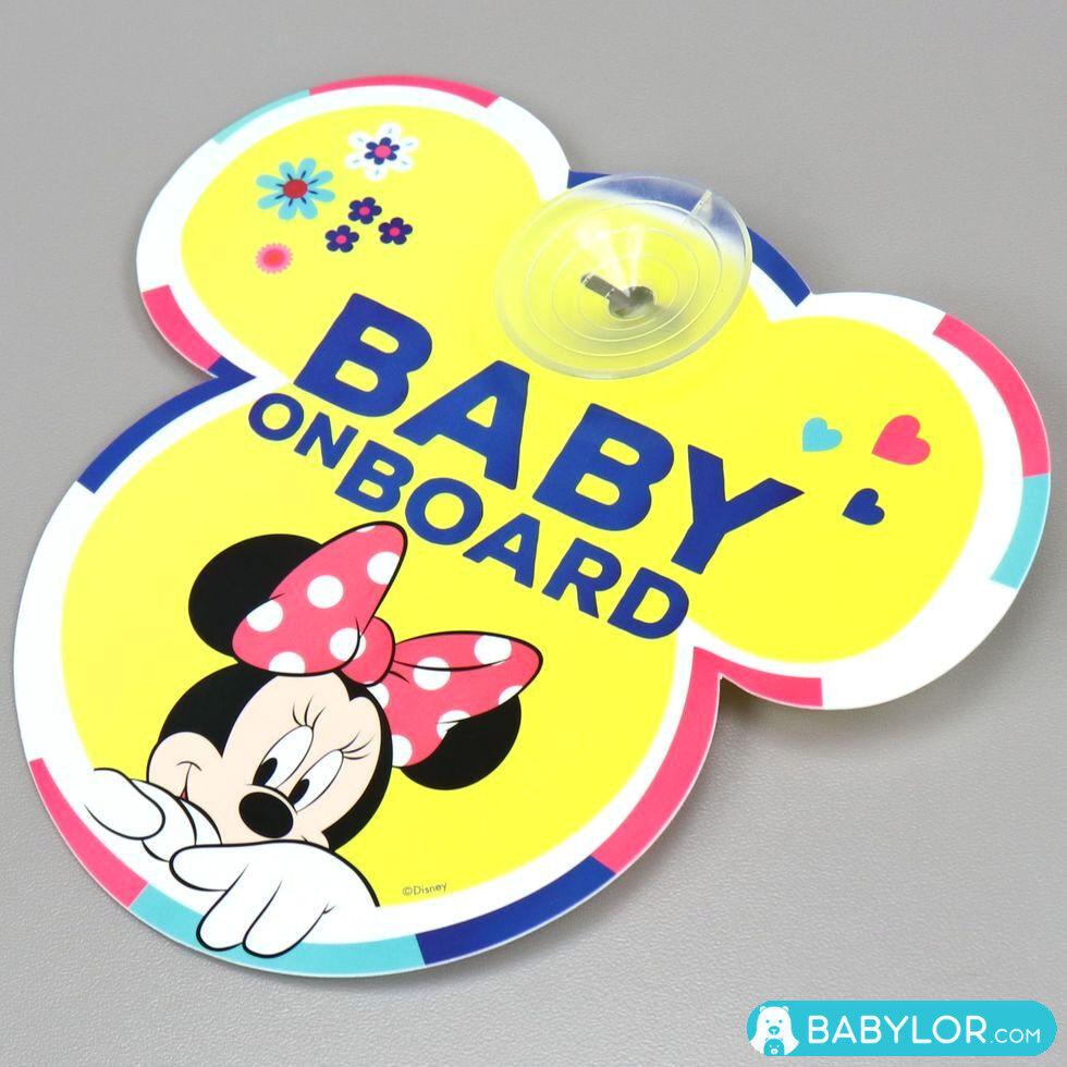 Disney Autocollant bébé à bord à ventouse Disney Minnie