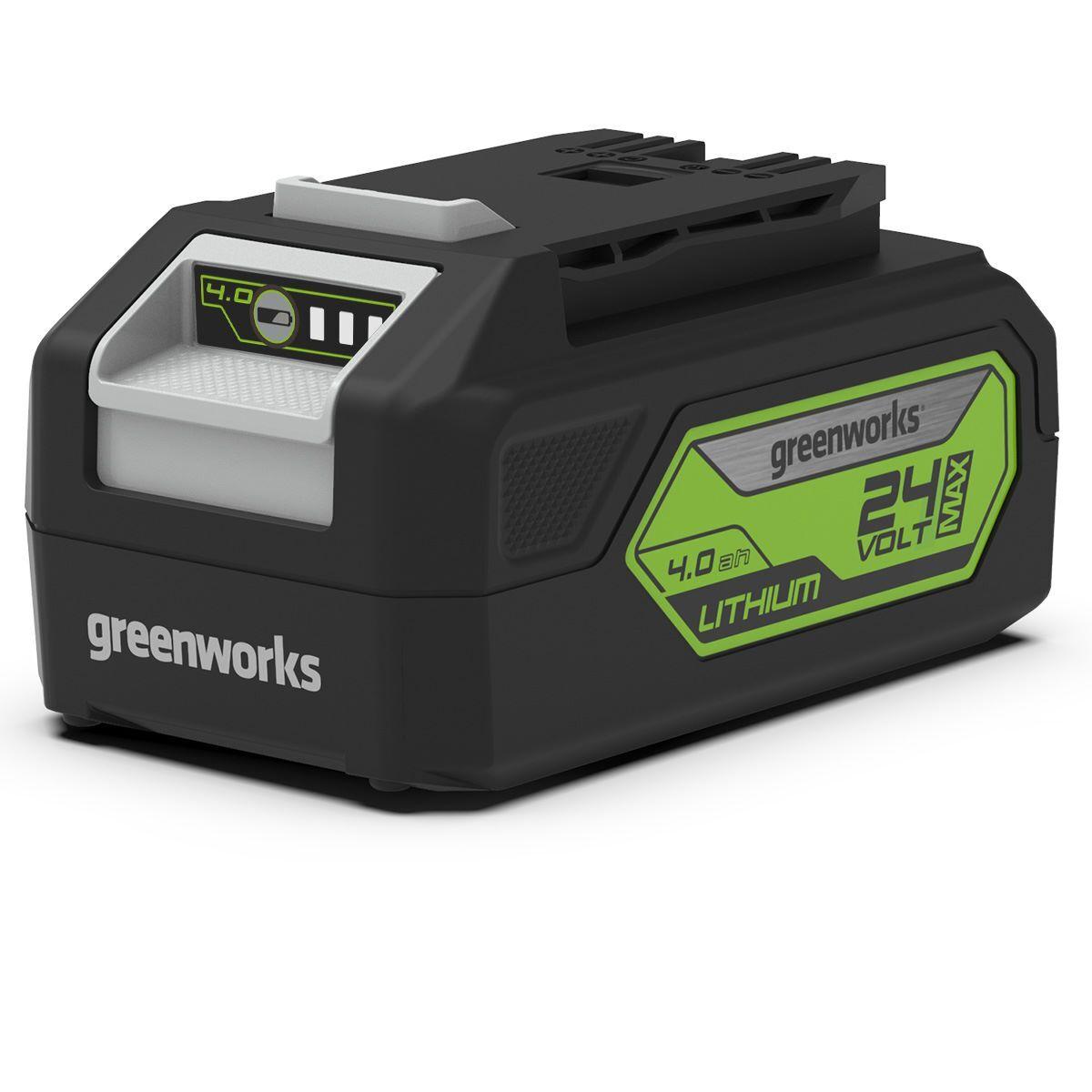 GREENWORKS Batterie GREENWORKS 4Ah G-24 Lithium 24V (sans chargeur) -