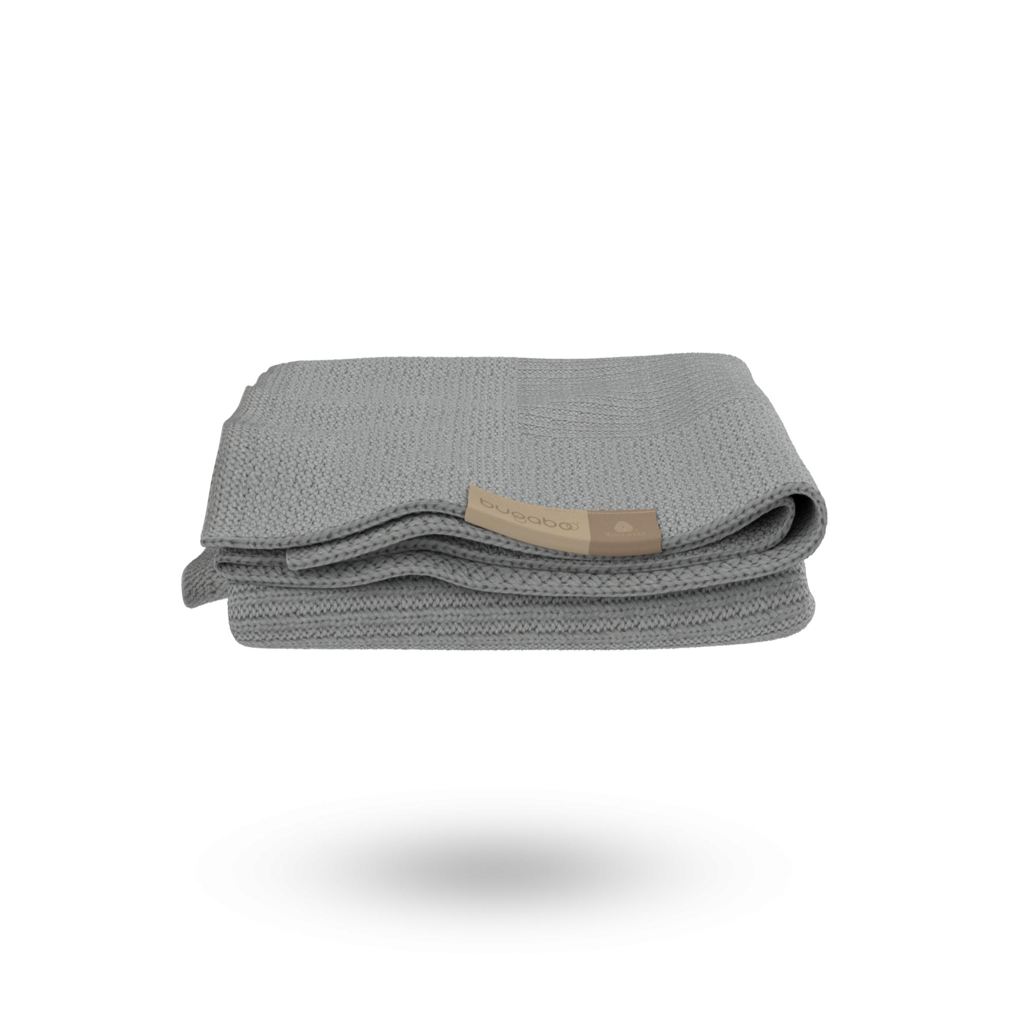 Bugaboo couverture laine douce gris chiné