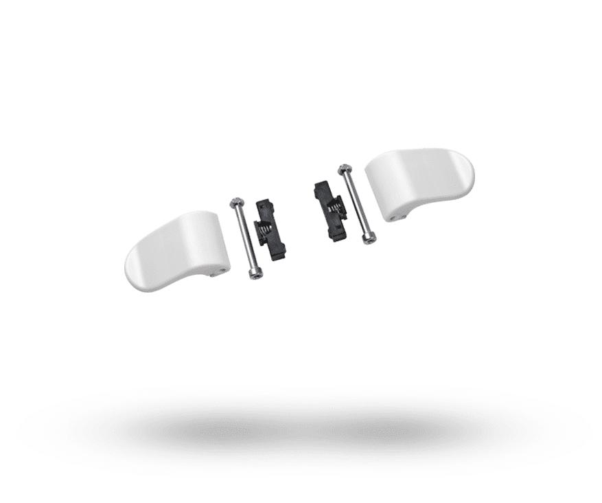 Bugaboo Cameleon 3 kit de rechange des clips d'ajustement du guidon blanc