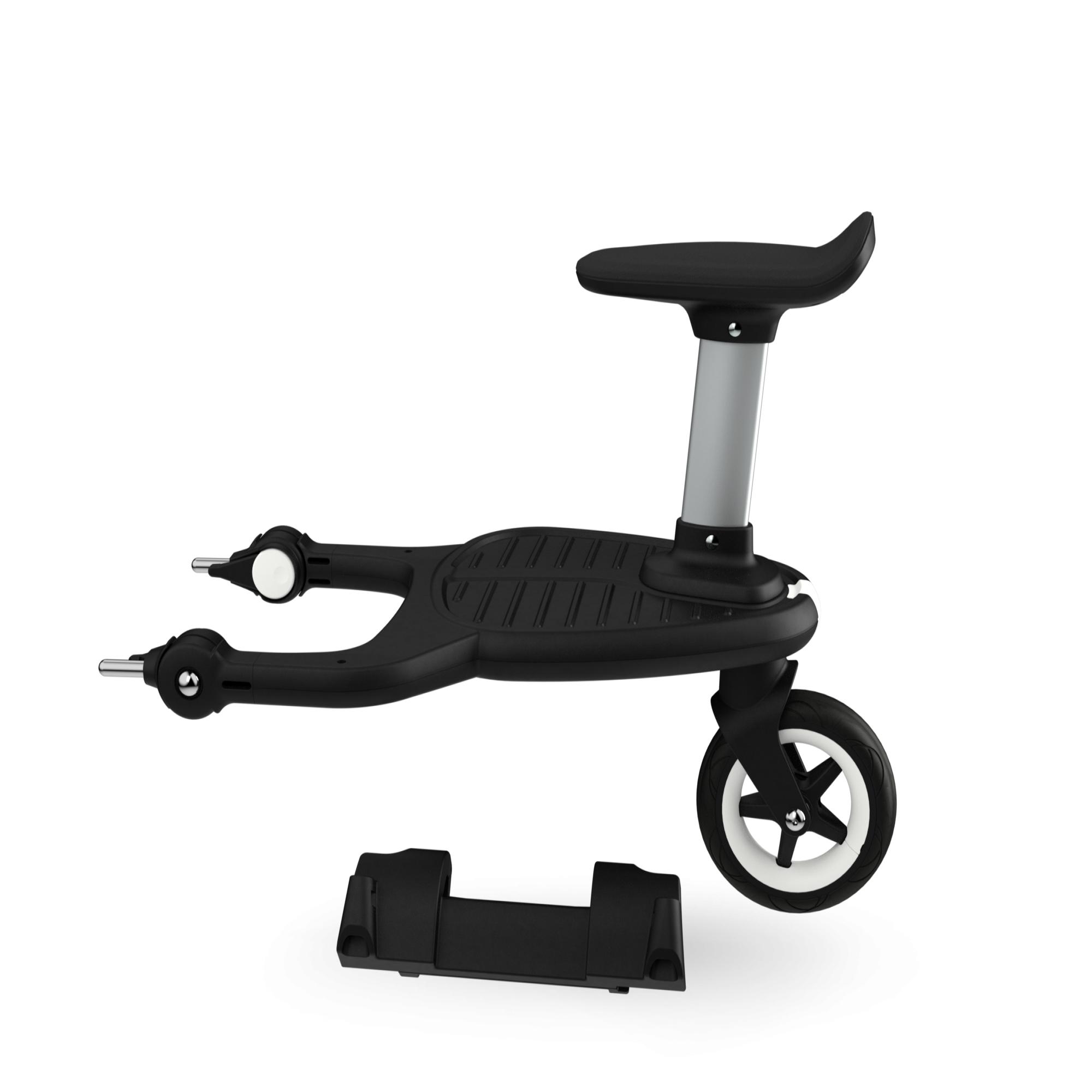 Bugaboo Donkey/Buffalo adaptateur pour planche à roulette confort Bugaboo noir