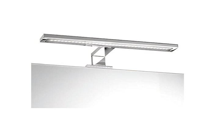 CAESAROO Lampe LED 30 cm chromée en ABS   Chromè