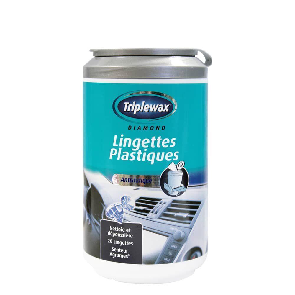 Triplewax Lingette Plastique