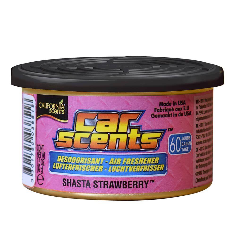 CAR SCENTS SHASTA STRAWBERRY