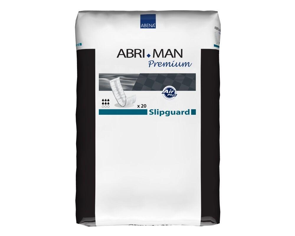 Abena Abri-Man Premium Slipguard - Protections anatomiques pour hommes - 20 pièces