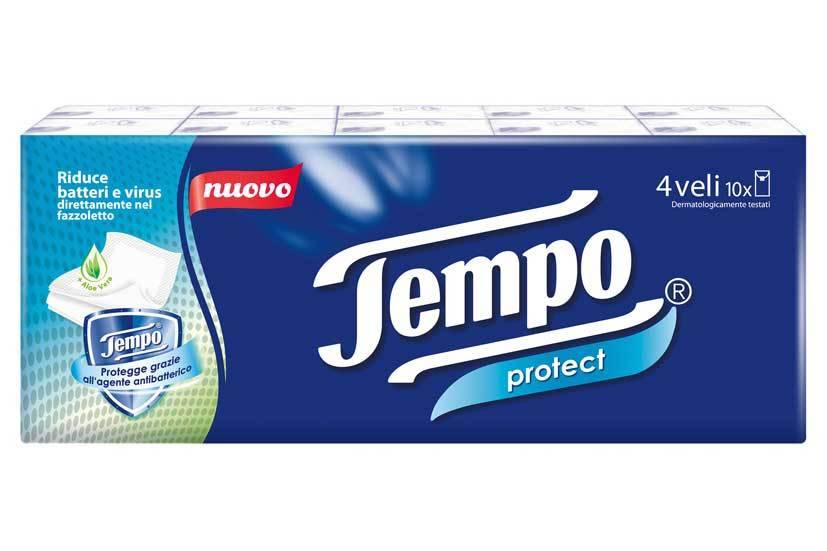 ESSITY ITALY SpA Temps Protect Mouchoirs 4 Veli