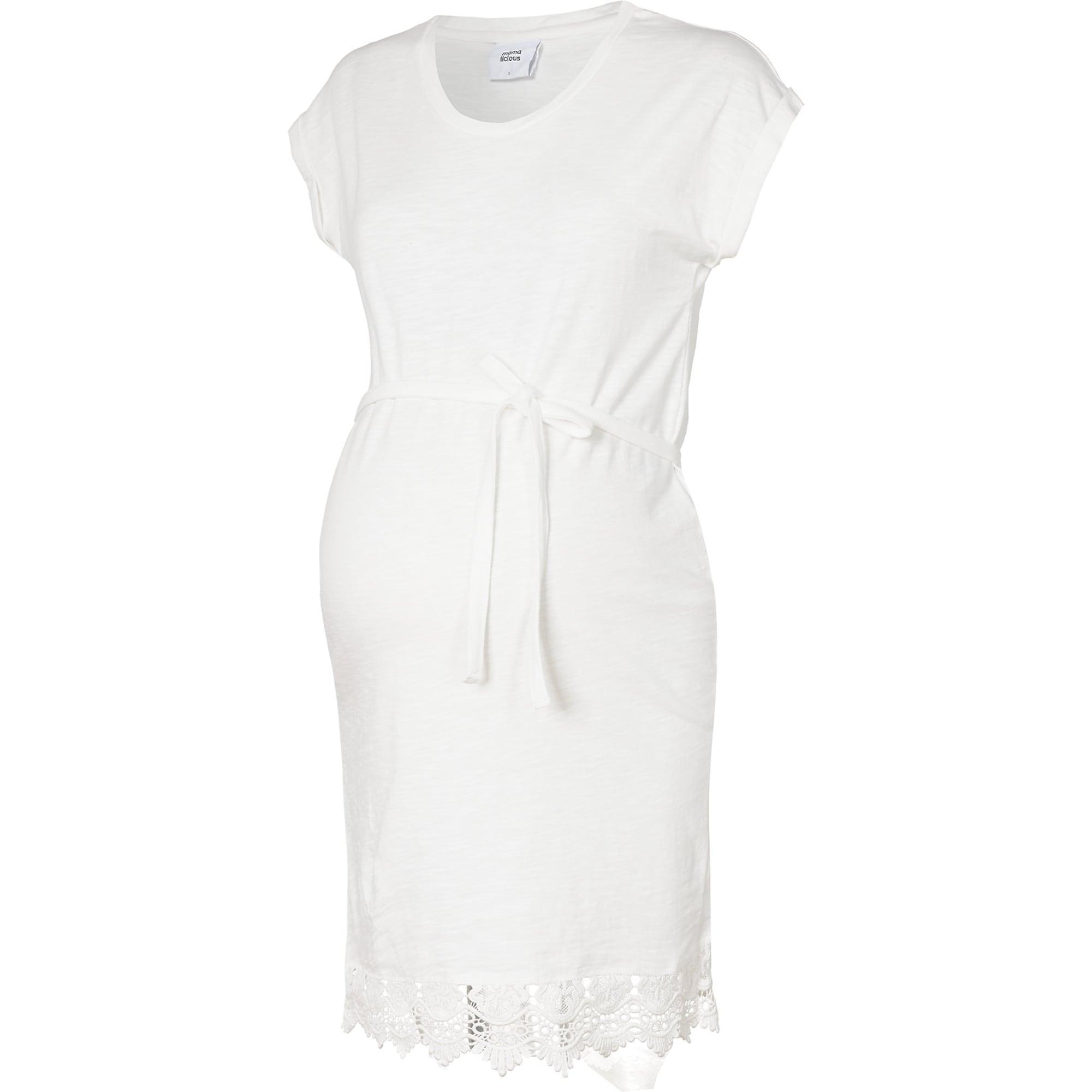 MAMALICIOUS Tunique 'Mlaletta'  - Blanc - Taille: 40 - female
