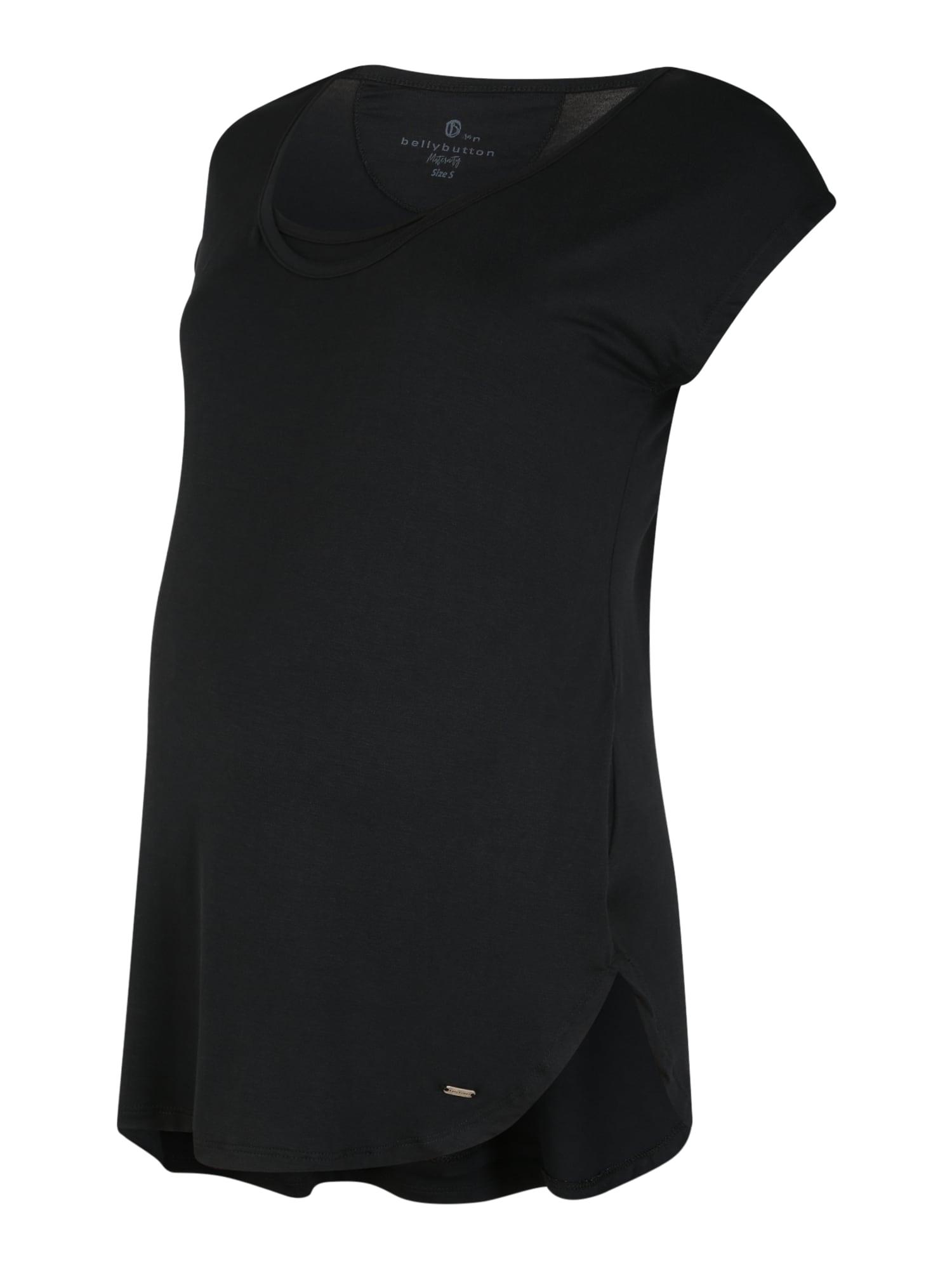BELLYBUTTON T-shirt 'Melissa'  - Noir - Taille: XS - female