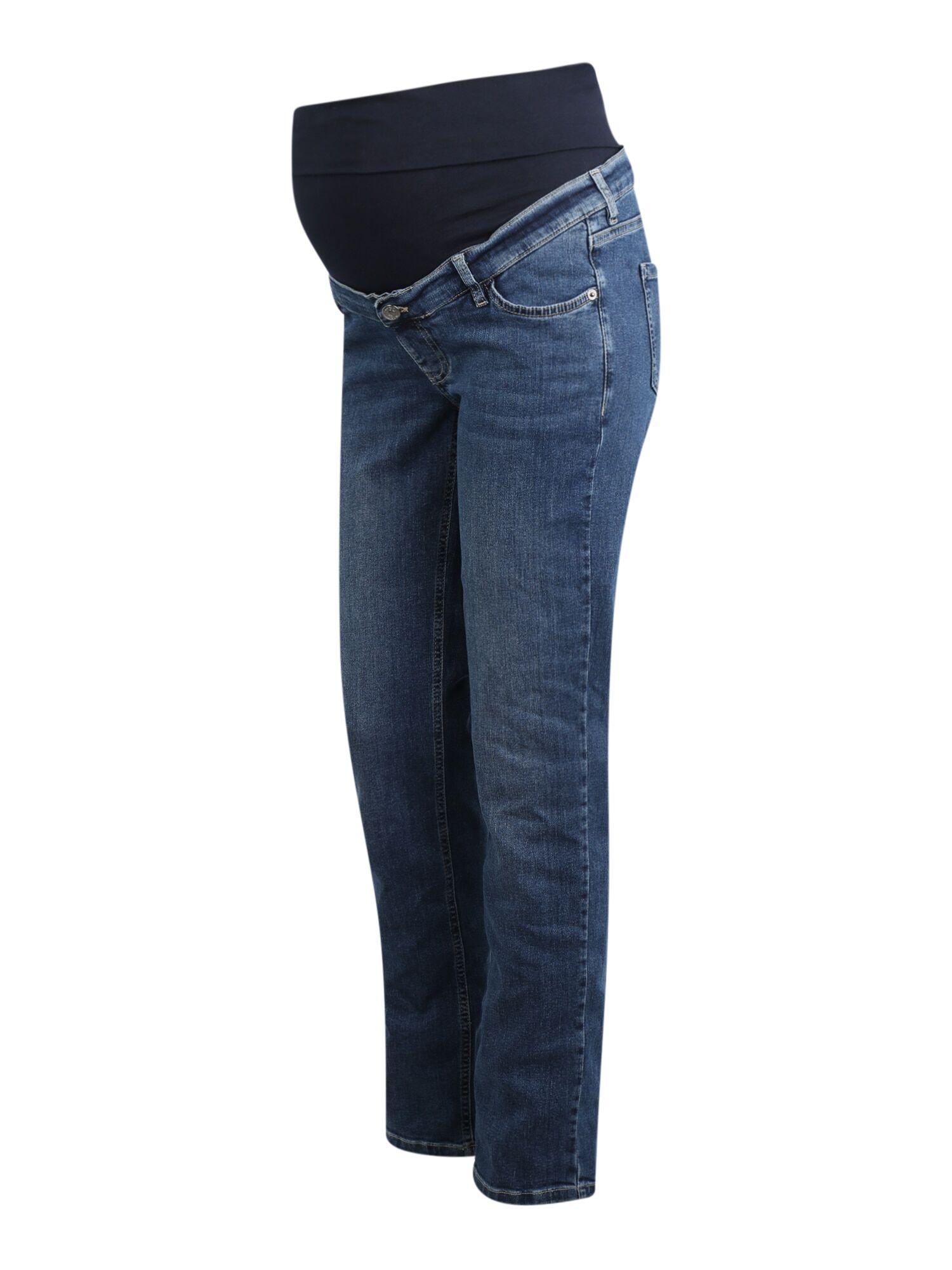 Esprit Jean 'OTB'  - Bleu - Taille: 38/32 - female