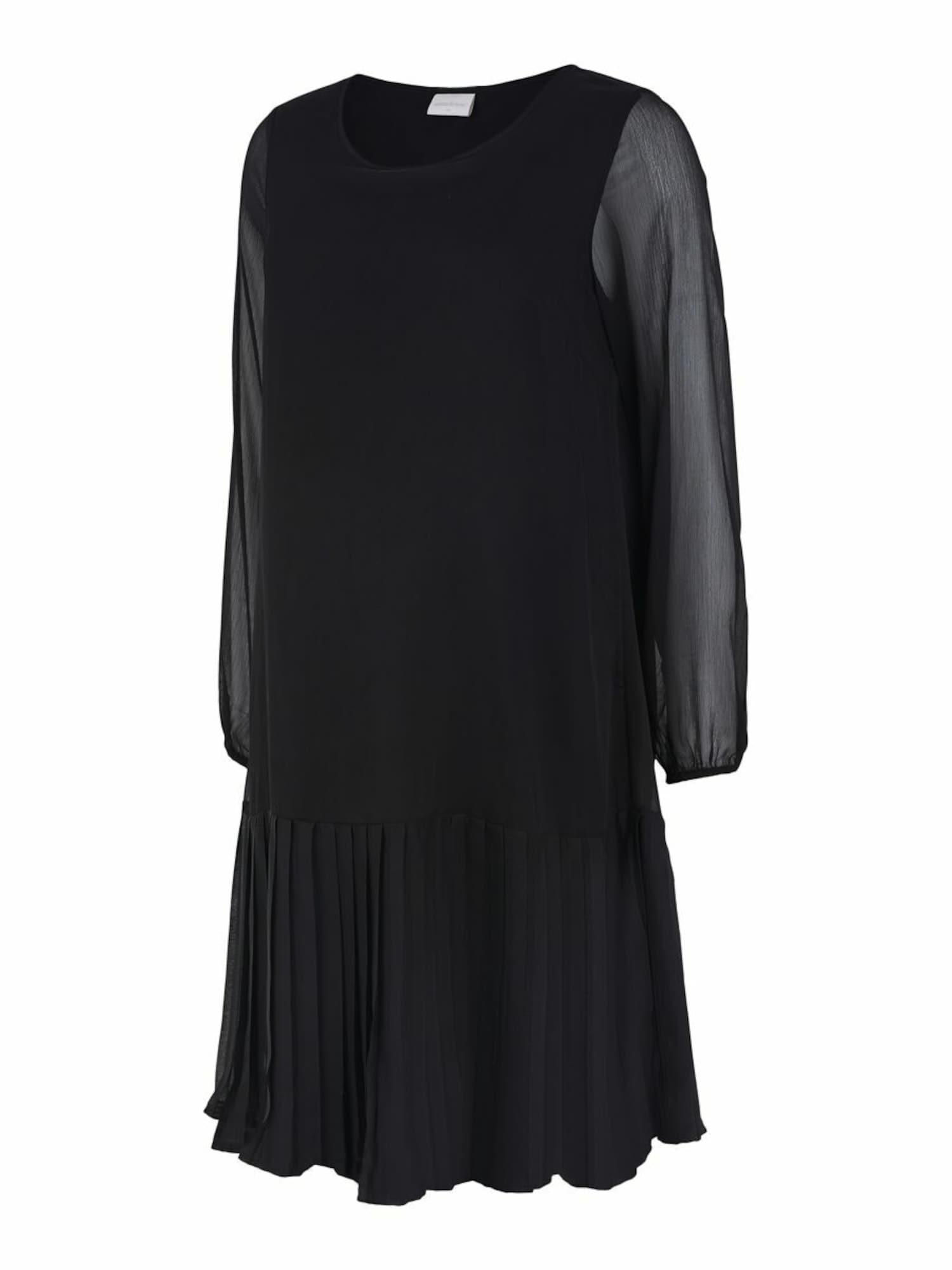 MAMALICIOUS Robe 'Frida'  - Noir - Taille: 38 - female