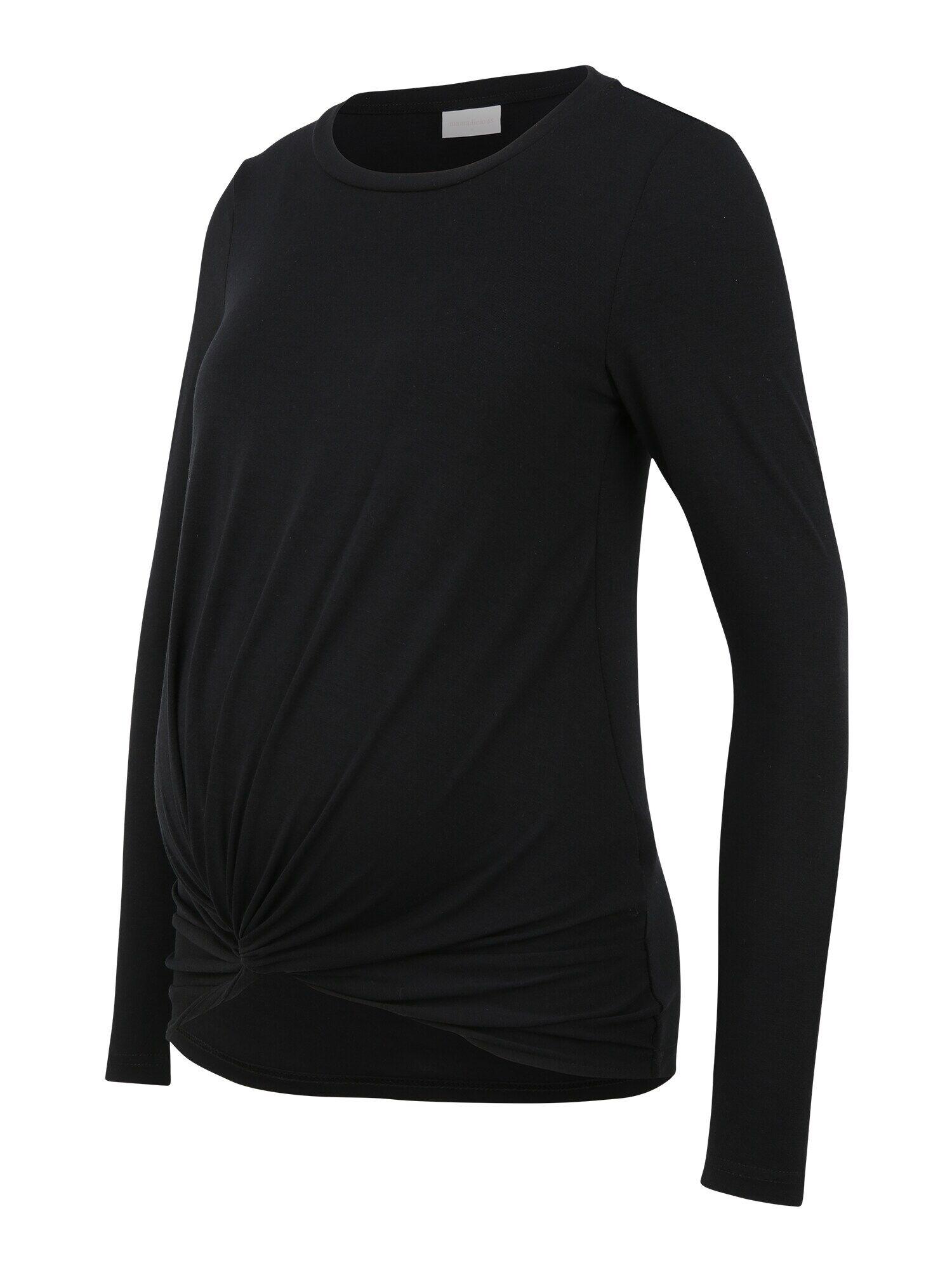 MAMALICIOUS T-shirt 'ELLI'  - Noir - Taille: XL - female