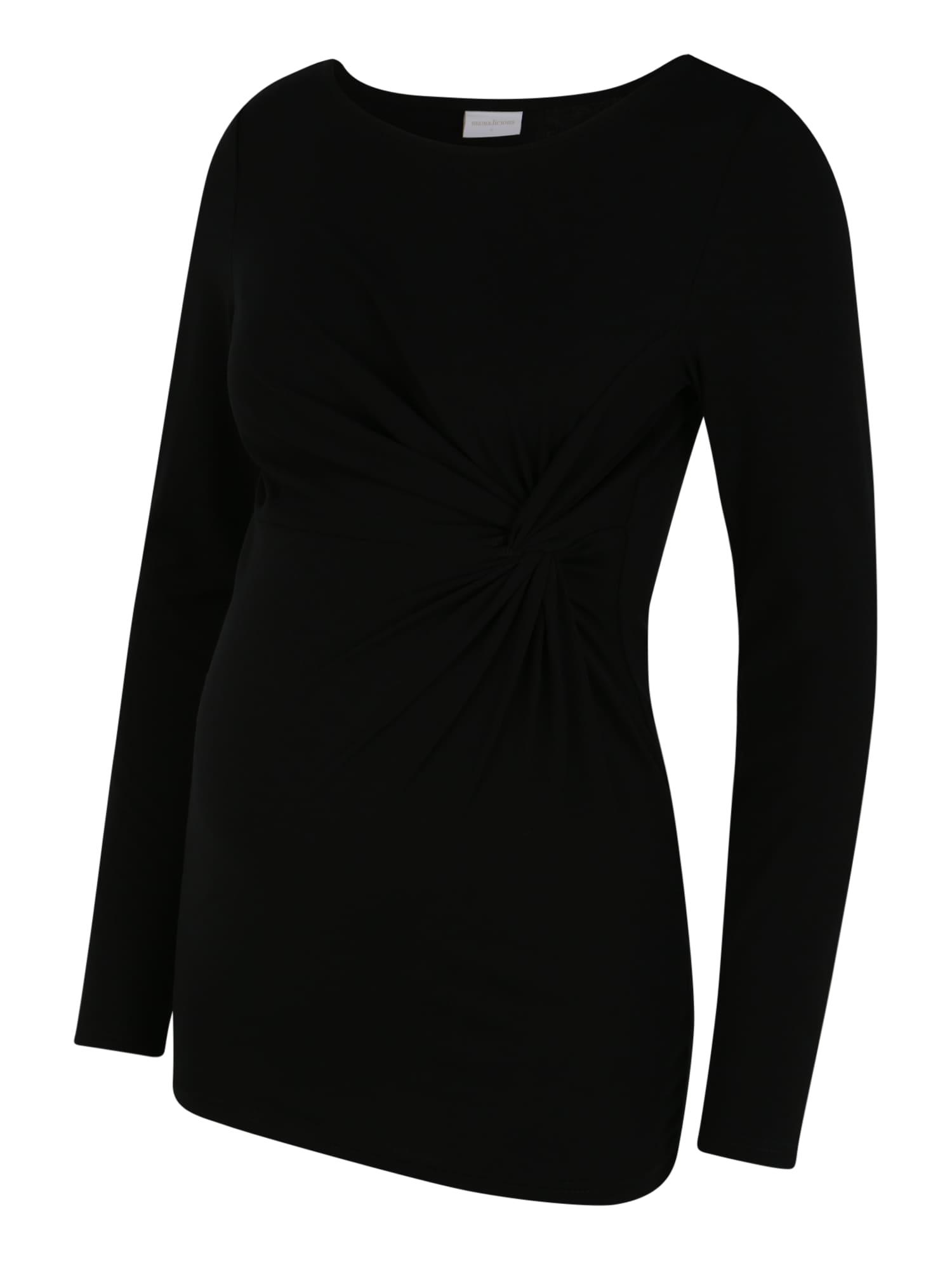 MAMALICIOUS T-shirt 'MEHA'  - Noir - Taille: XL - female