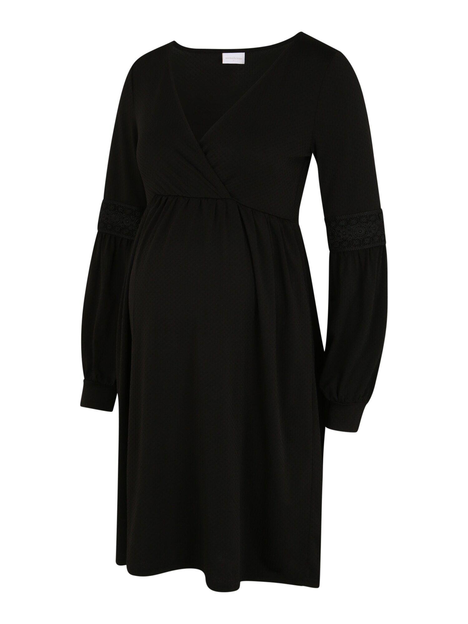 MAMALICIOUS Robe  - Noir - Taille: 42 - female