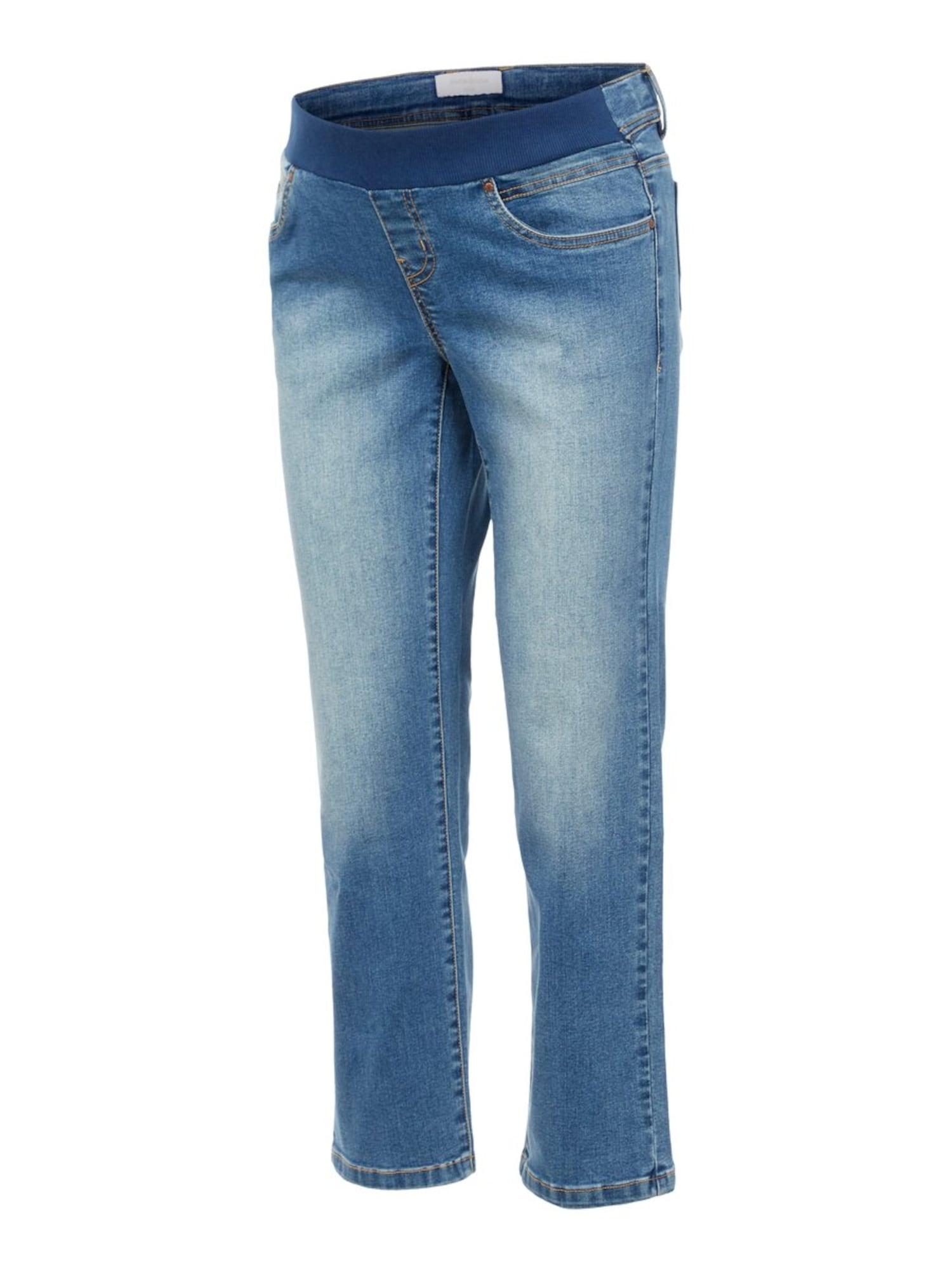 MAMALICIOUS Jean 'Marbella'  - Bleu - Taille: 27/32 - female