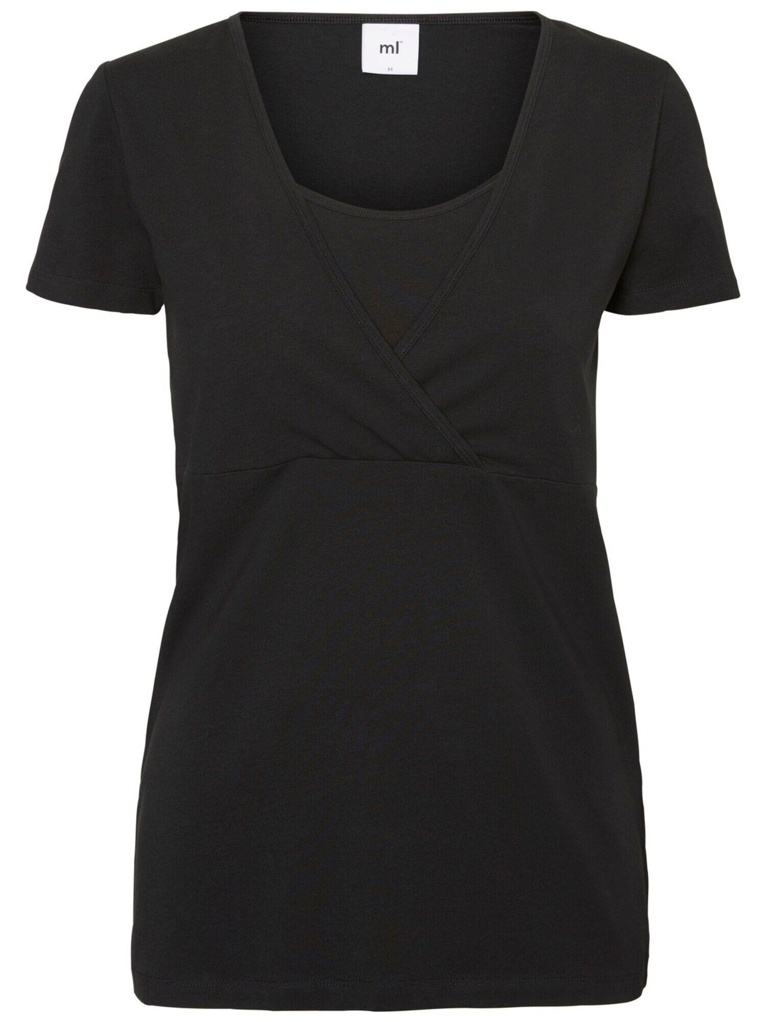 MAMALICIOUS T-shirt  - Noir, Blanc - Taille: L - female