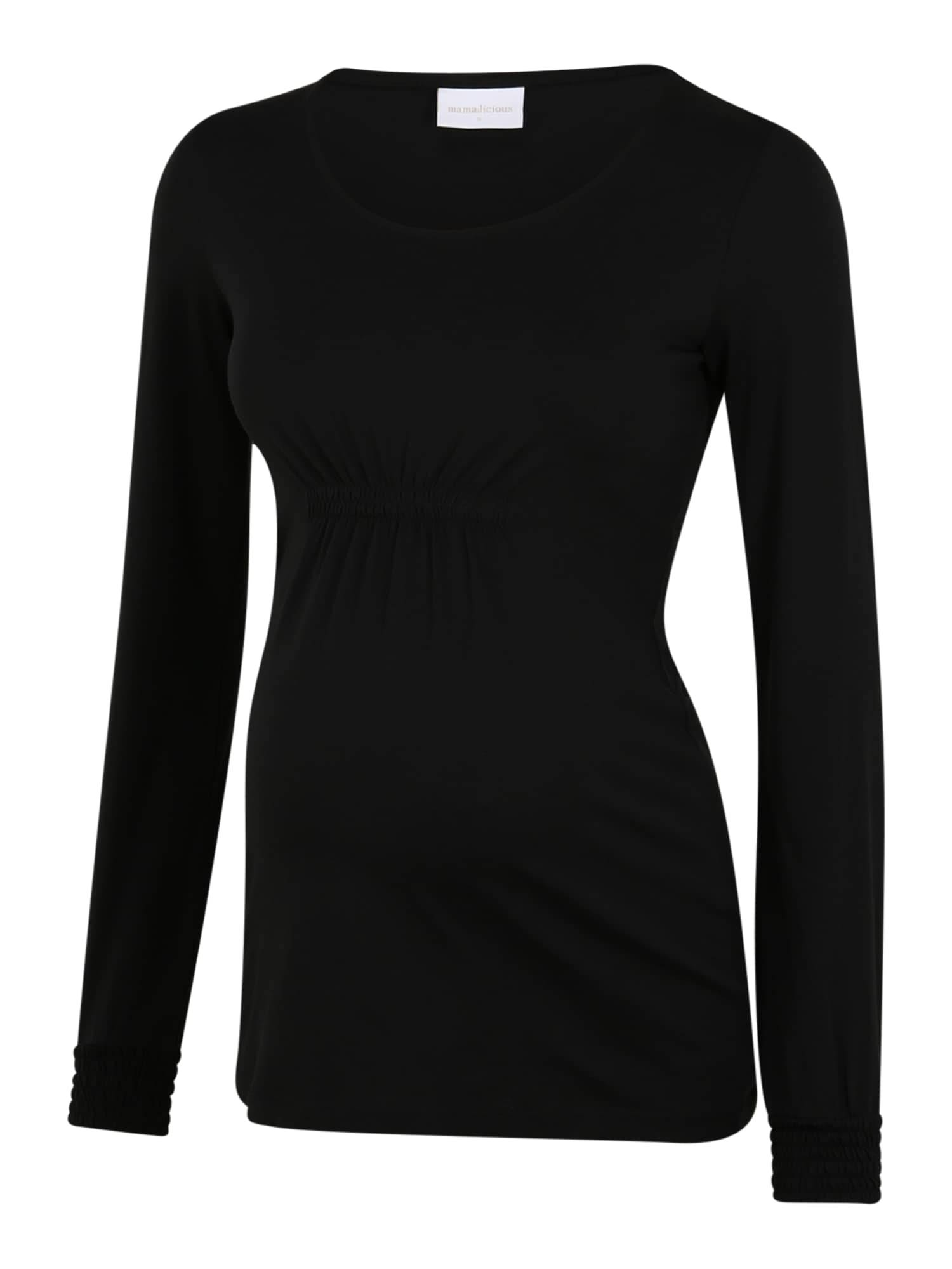 MAMALICIOUS T-shirt 'Minna'  - Noir - Taille: M - female