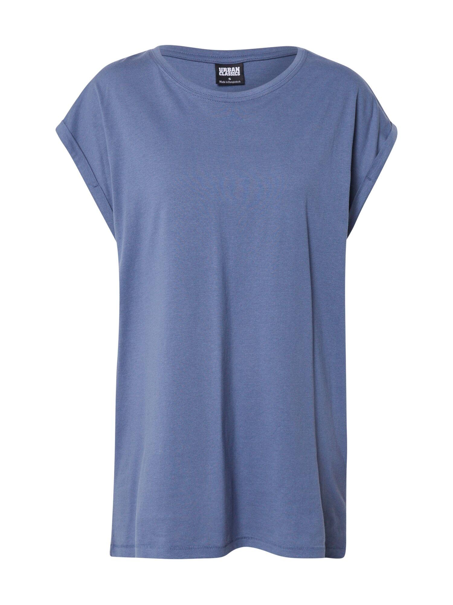 Urban Classics Curvy T-shirt  - Bleu - Taille: XS - female