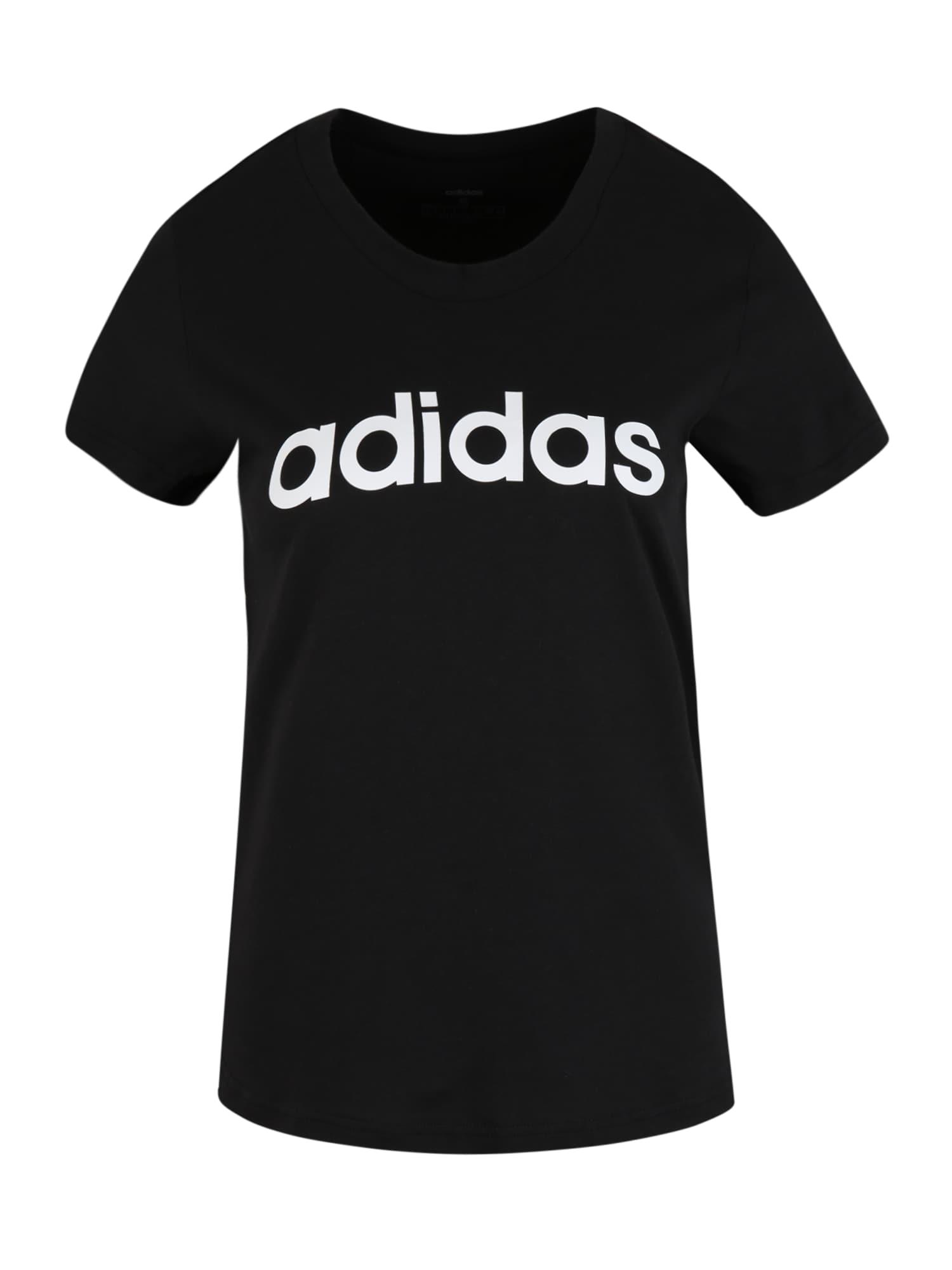 ADIDAS PERFORMANCE T-shirt fonctionnel  - Noir - Taille: S - female