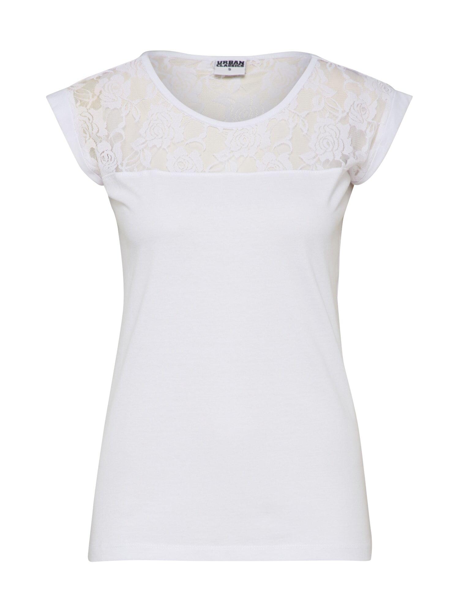 Urban Classics T-shirt  - Blanc - Taille: S - female