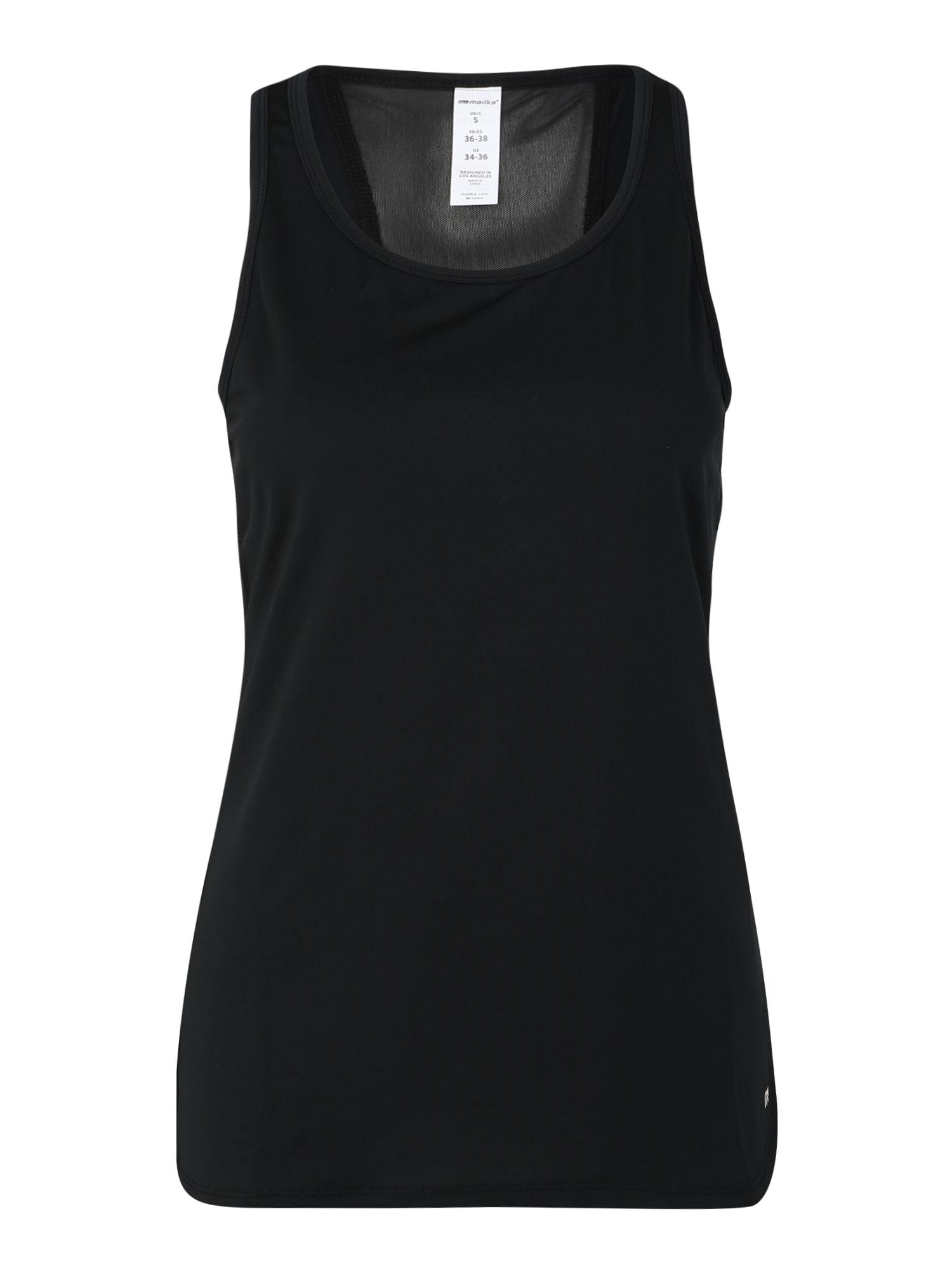 Marika Haut de sport 'BLOSSOM SINGLET'  - Noir - Taille: XL - female