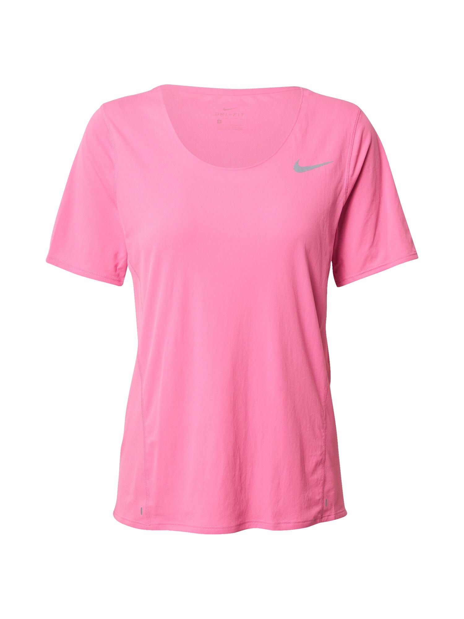 NIKE T-shirt fonctionnel 'City Sleek'  - Rose - Taille: L - female