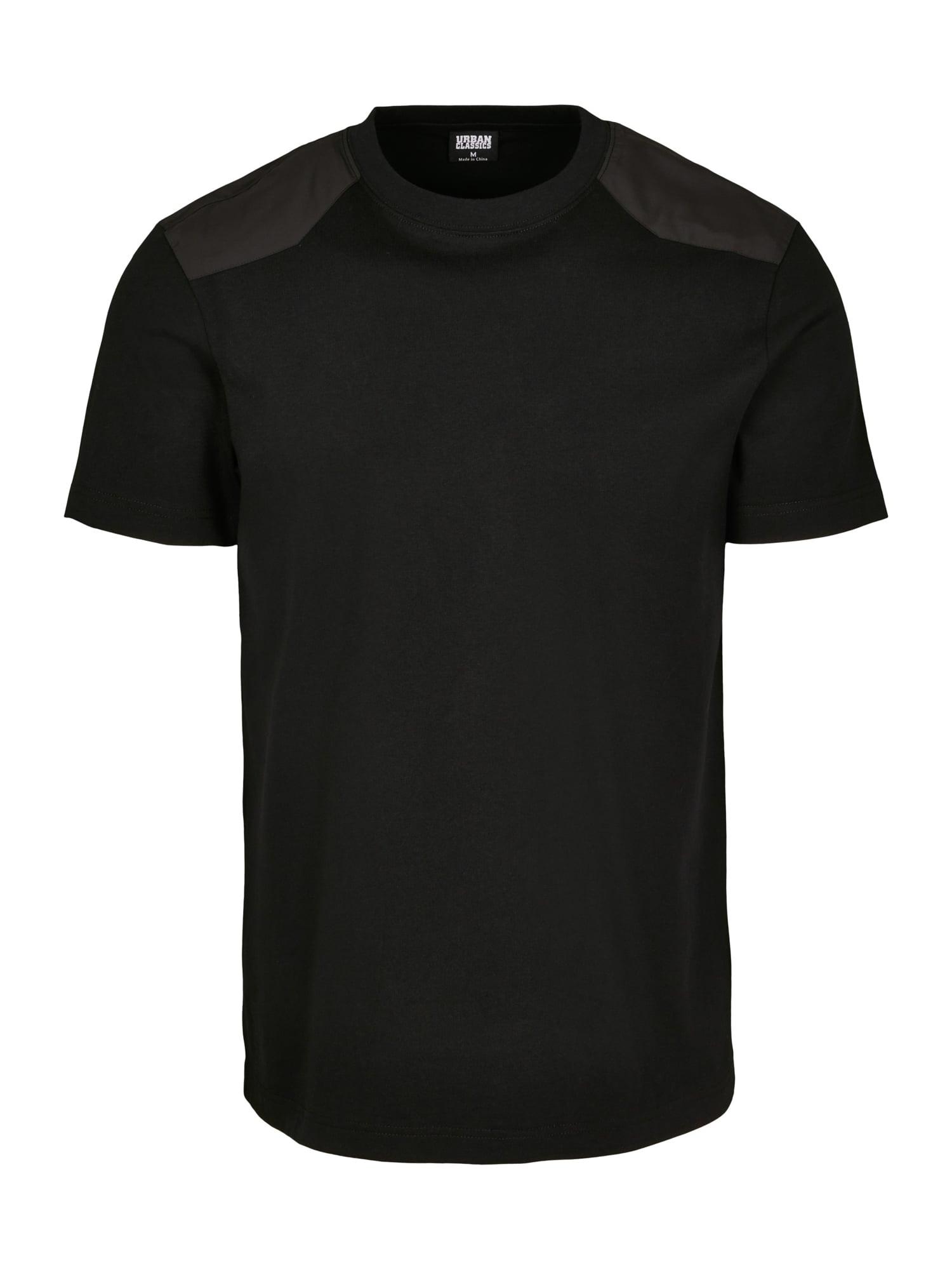 Urban Classics T-Shirt 'Military'  - Noir - Taille: S - male