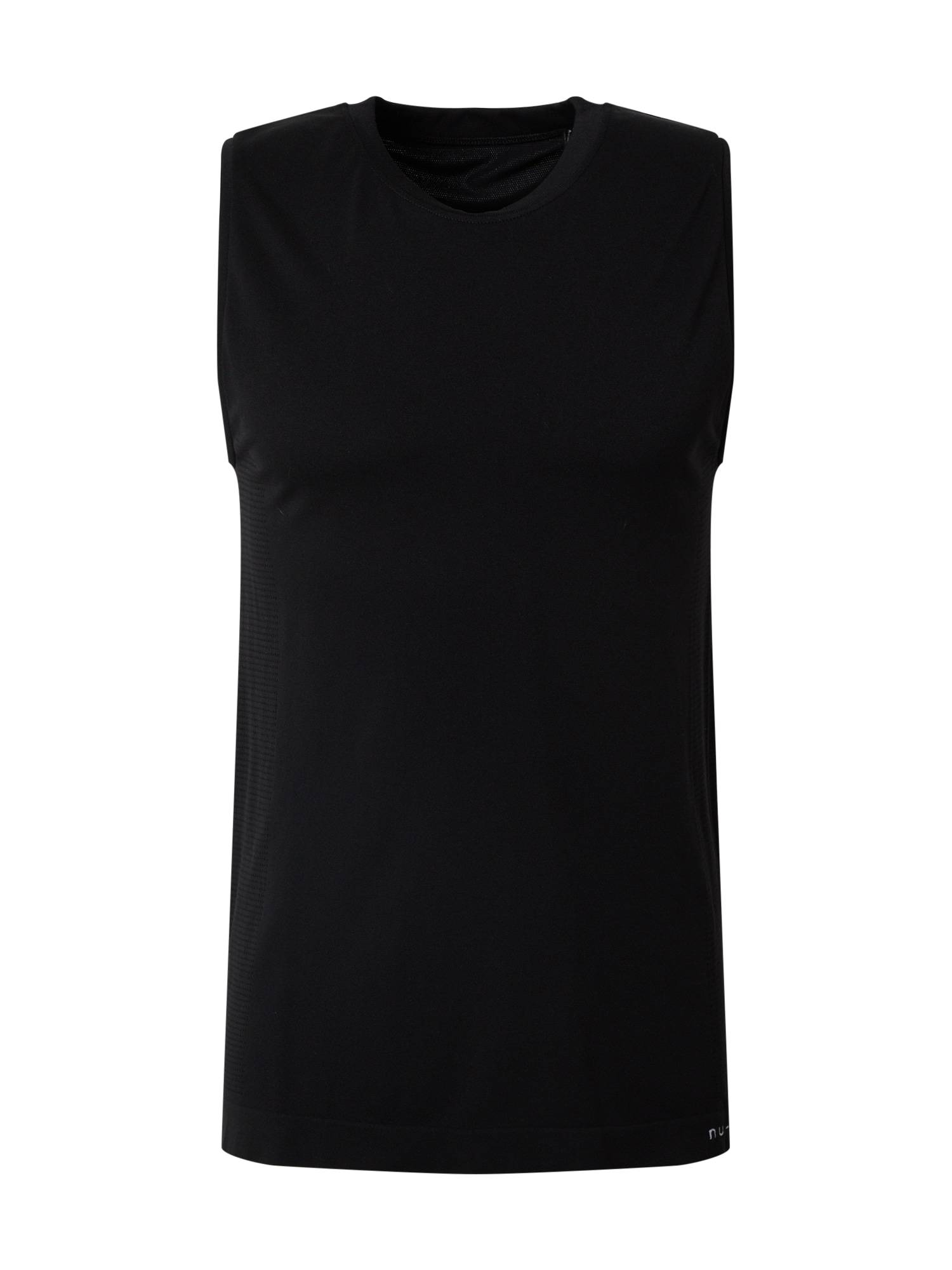 NU-IN T-Shirt 'Seamless Mesh Panel'  - Noir - Taille: L - male