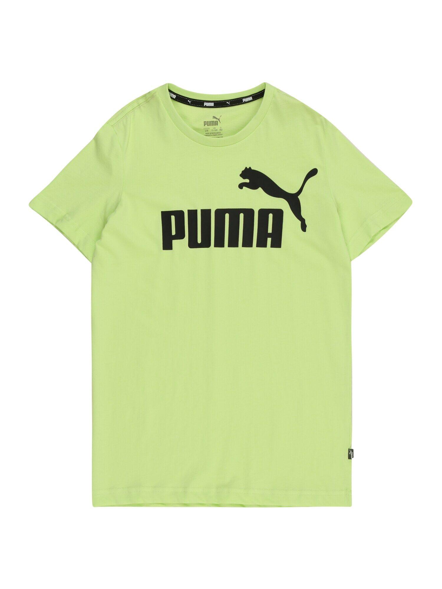PUMA T-Shirt 'ESS'  - Vert - Taille: 116 - boy