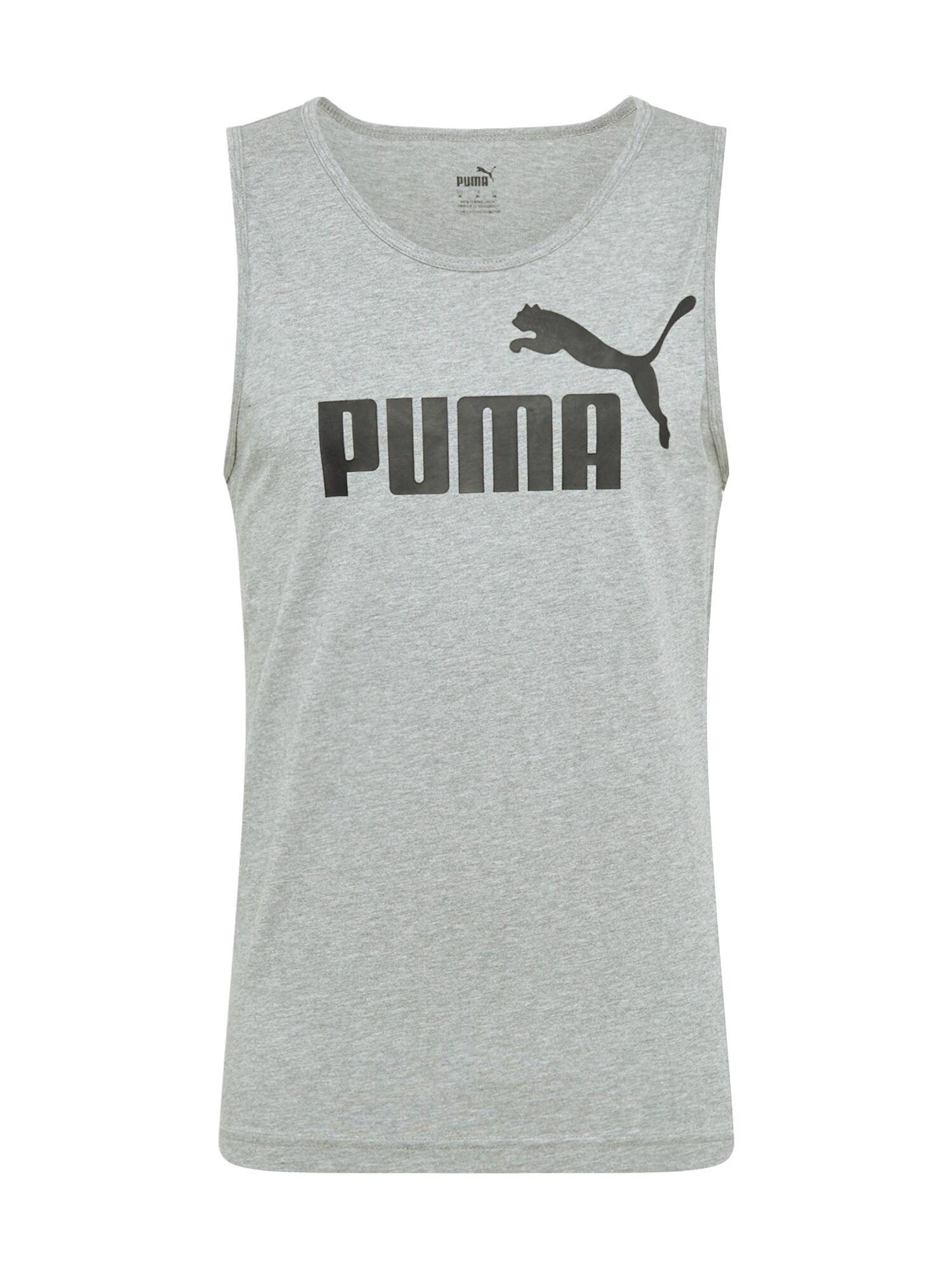PUMA T-Shirt  - Gris - Taille: M - male
