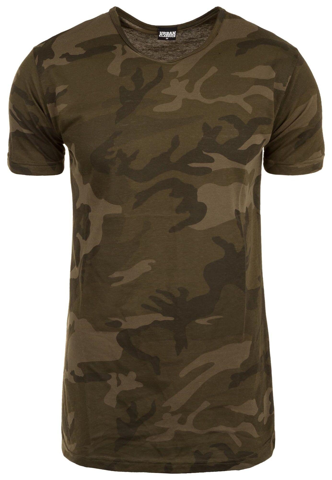 Urban Classics T-Shirt  - Vert - Taille: S - male