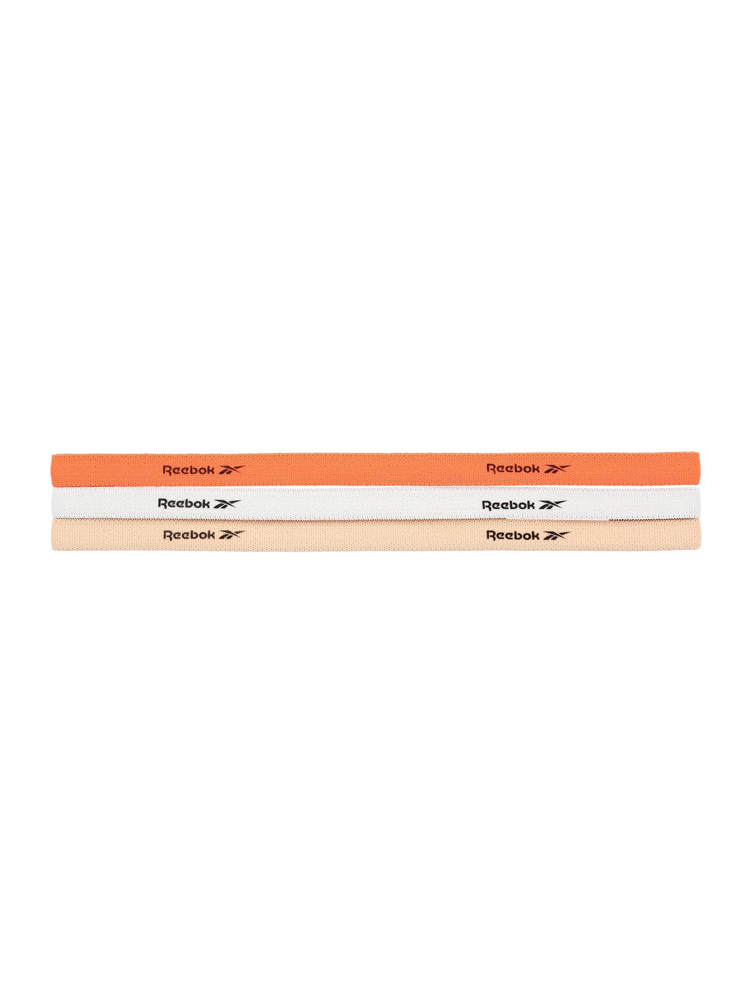 REEBOK Bandeau de transpiration  - Orange, Blanc - Taille: OSFM - male