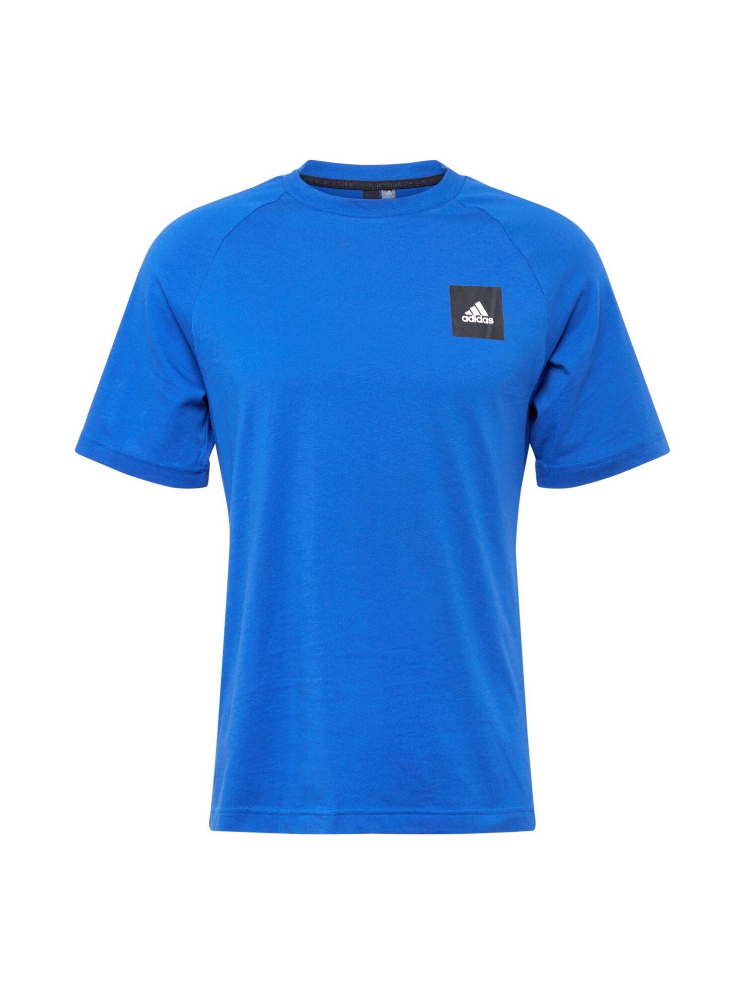 ADIDAS PERFORMANCE T-Shirt fonctionnel  - Bleu - Taille: S - male