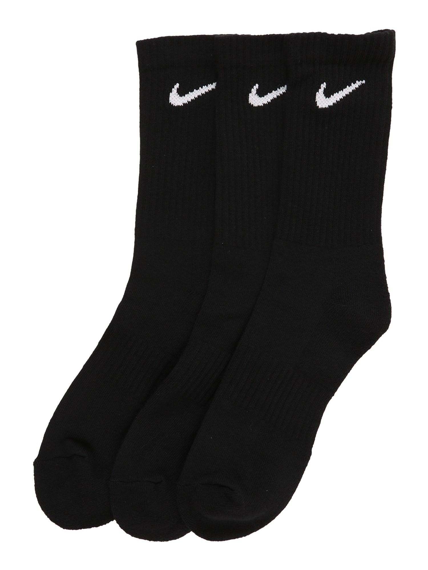 NIKE Chaussettes de sport  - Noir - Taille: 46-50 - male