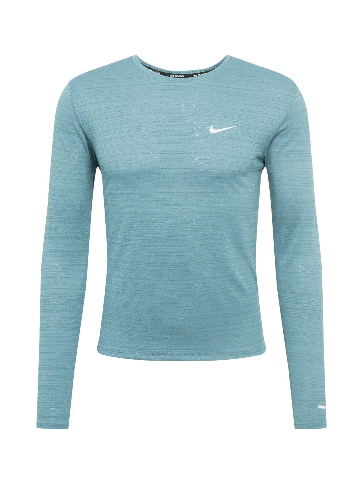 NIKE T-Shirt fonctionnel 'Miler'  - Bleu - Taille: XL - male